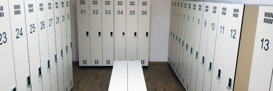 Lockers Schowki z HPL GENTAŞ