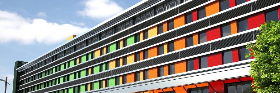 Fasada z HPL